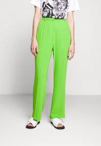 MM6 Maison Margiela - SMART - Trousers - green - 0