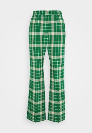 SMART - Spodnie materiałowe - green