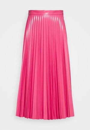 PLEATED SKIRT - Áčková sukně - barbie pink