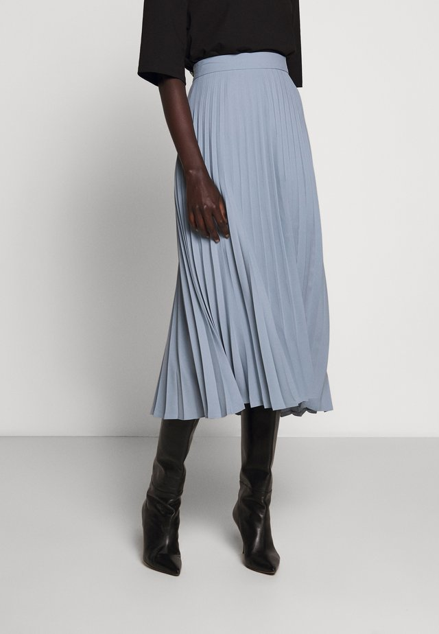 PLEATED SKIRT - A-Linien-Rock - ice blue