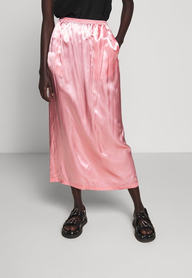 MM6 Maison Margiela - MIDI SKIRTS - Áčková sukně - pink