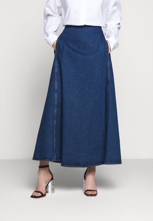 MIDI SKIRTS - Maksihame - blue denim