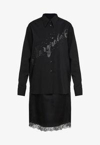 MM6 Maison Margiela - Společenské šaty - black - 5