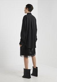 MM6 Maison Margiela - Společenské šaty - black - 2