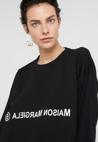 MM6 Maison Margiela - Jersey dress - black - 4