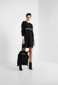 MM6 Maison Margiela - Jersey dress - black - 1