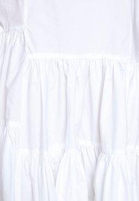 MM6 Maison Margiela - POPLIN DRESS - Vapaa-ajan mekko - white - 8