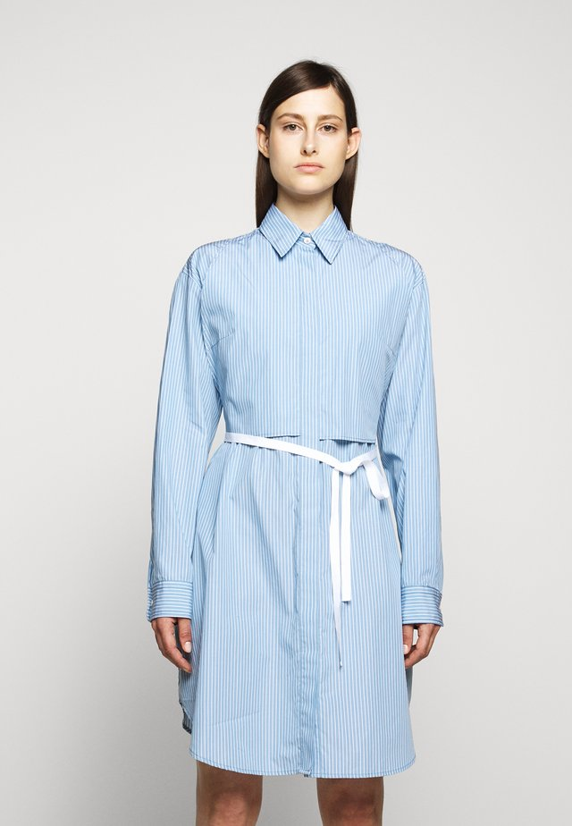 DRESS - Blusenkleid - ice blue