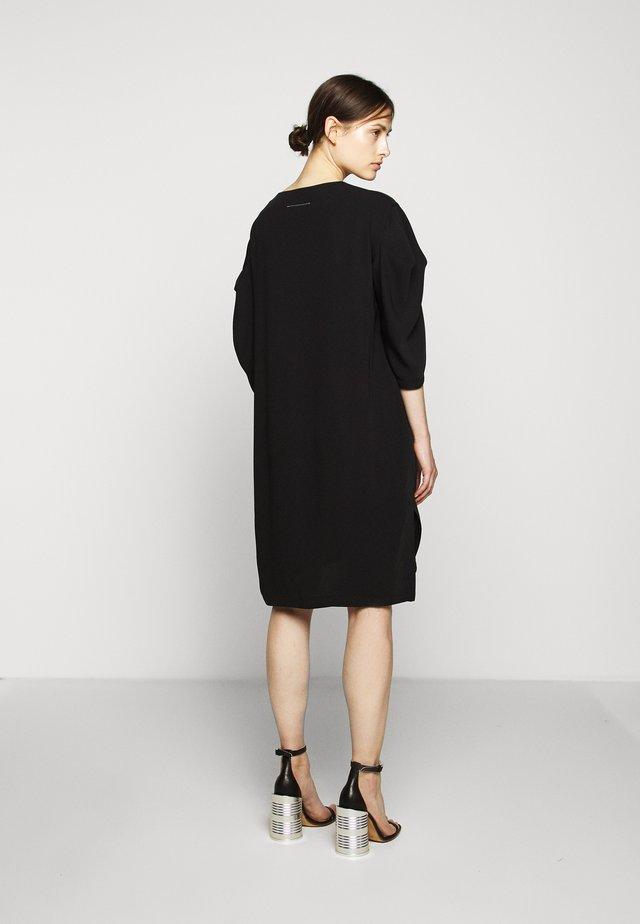 CLASSIC DRESS - Korte jurk - black