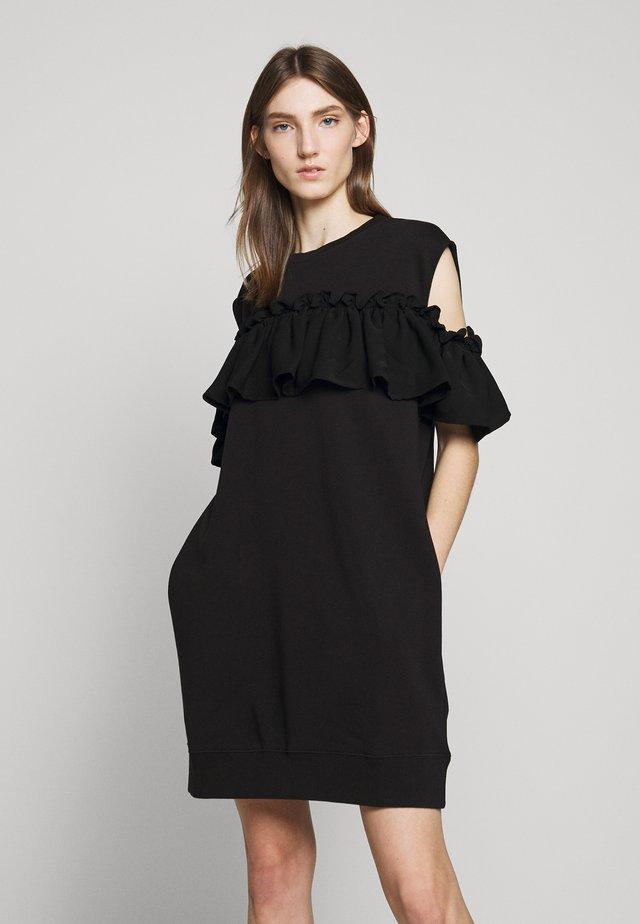 CASUAL - Korte jurk - black