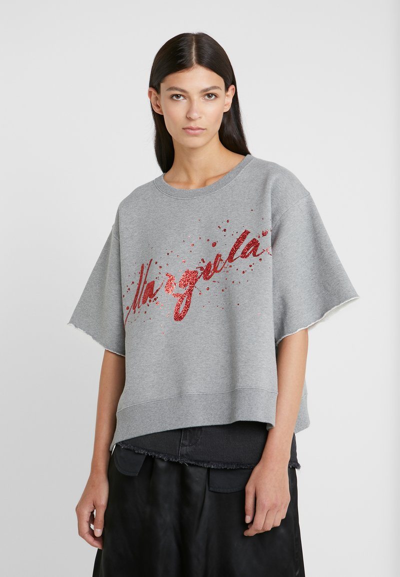 MM6 Maison Margiela - T-shirts print - grey melange