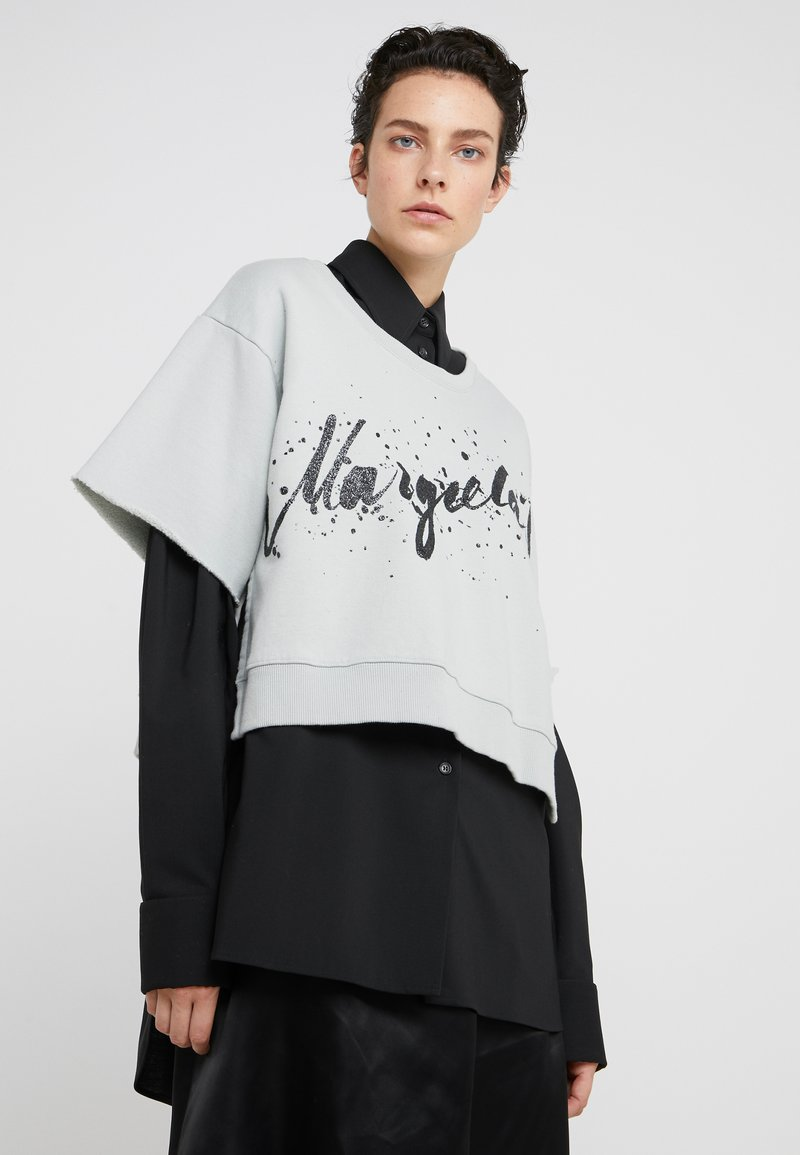 MM6 Maison Margiela - T-Shirt print - jade