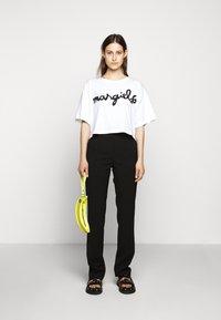 MM6 Maison Margiela - MARGIELA TEE - T-shirt print - white - 1