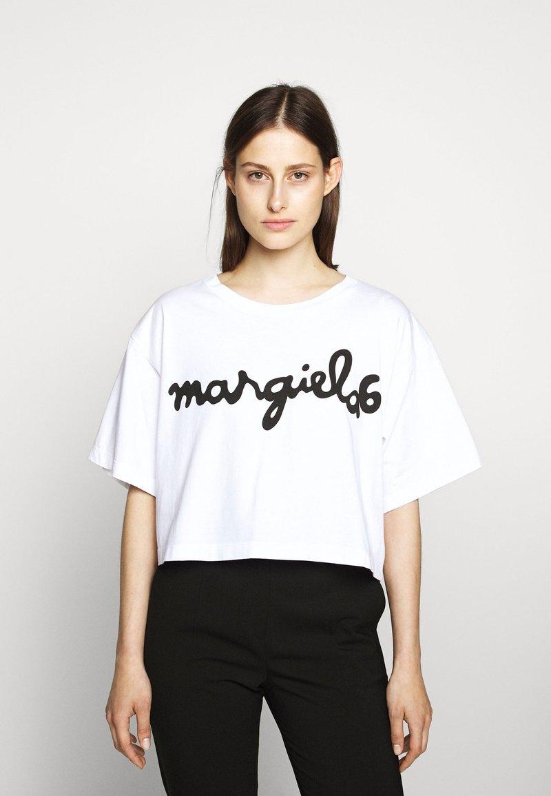 MM6 Maison Margiela - MARGIELA TEE - T-shirt print - white