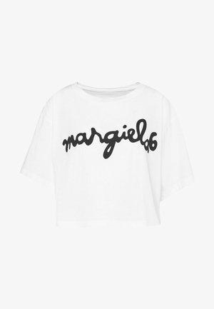 MARGIELA TEE - Triko spotiskem - white