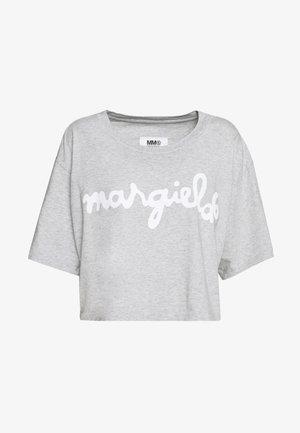 MARGIELA TEE - Print T-shirt - grey melange