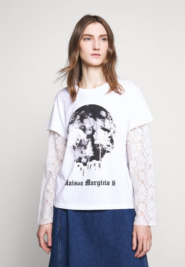 SHORT SLEEVES - T-shirt à manches longues - bright white