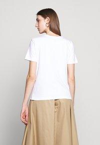 MM6 Maison Margiela - SHORT SLEEVES - T-shirt print - bright white - 2