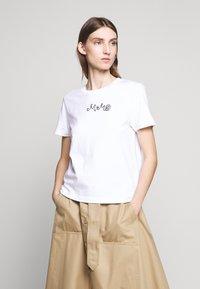 MM6 Maison Margiela - SHORT SLEEVES - T-shirt print - bright white - 0