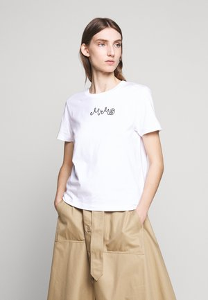 SHORT SLEEVES - Triko s potiskem - bright white