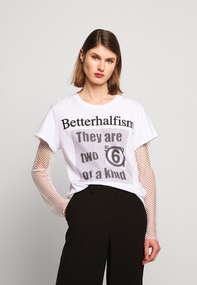 Pitkähihainen paita - bright white