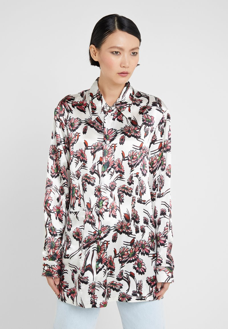 MM6 Maison Margiela - Button-down blouse - white