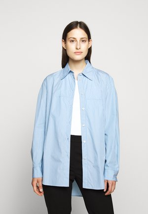 CLASSIC STRIPE - Button-down blouse - ice blue