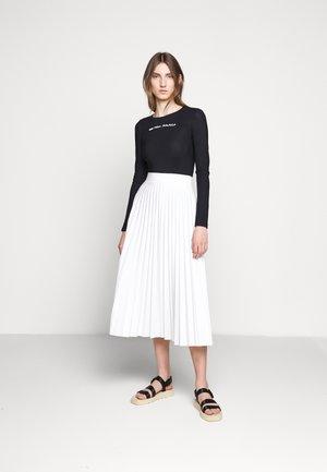 BODYSUITS - Long sleeved top - black