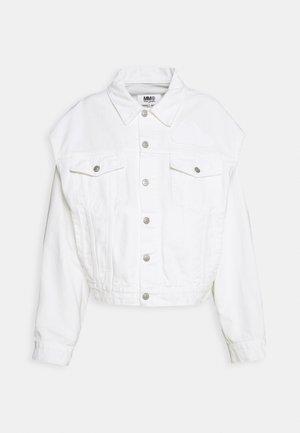 JACKET - Denim jacket - off white