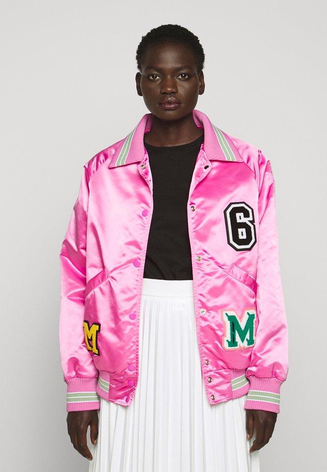 SPORTS JACKET - Bomberjacke - bubble pink