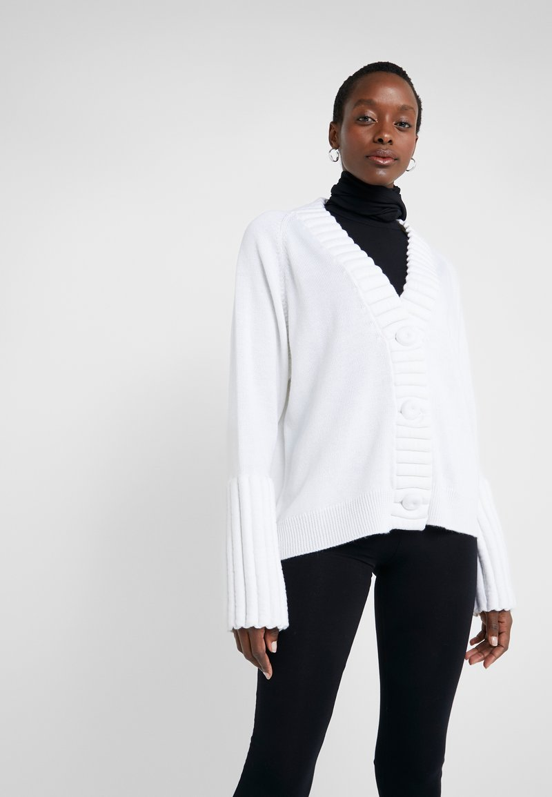 MM6 Maison Margiela - Cardigan - white