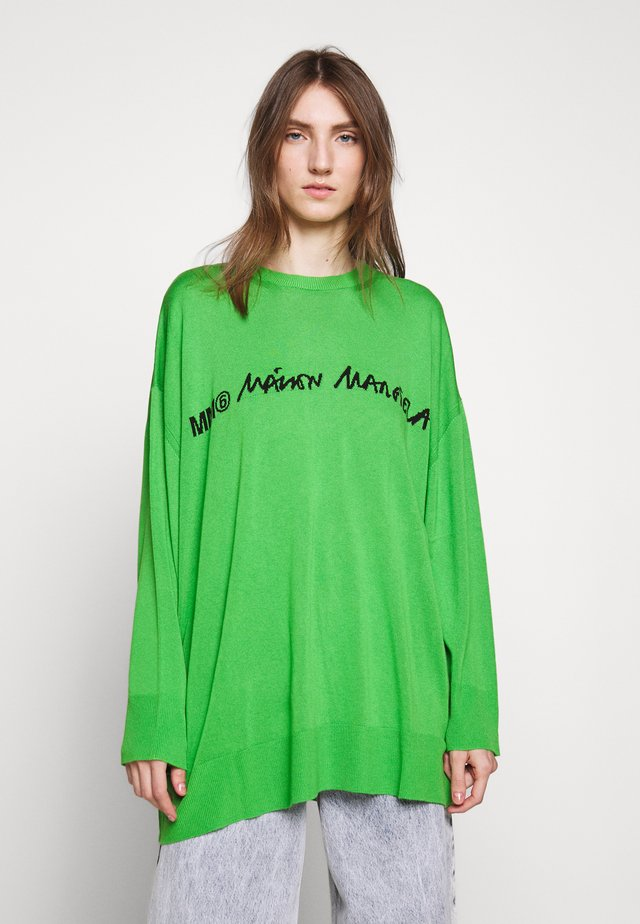 CREW NECK JUMPERS - Maglione - green