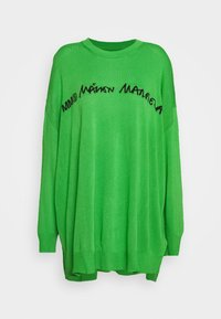 MM6 Maison Margiela - CREW NECK JUMPERS - Svetr - green - 7