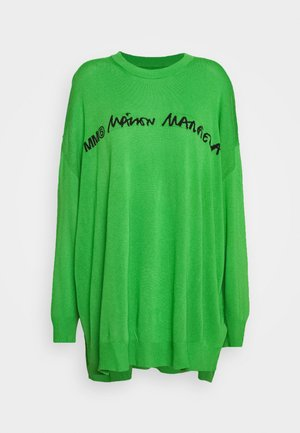 CREW NECK JUMPERS - Pullover - green