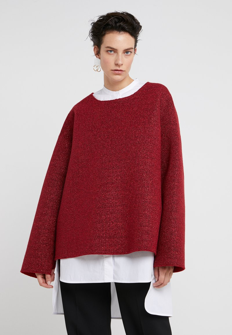 MM6 Maison Margiela - Sweatshirt - red