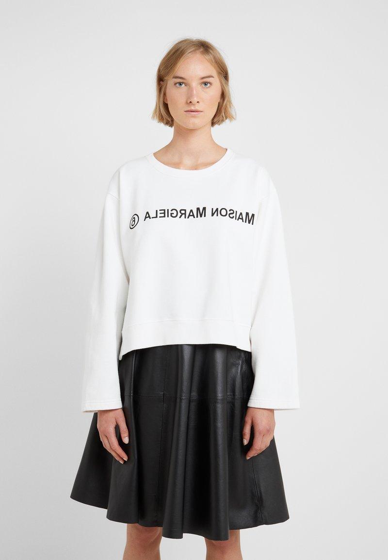 MM6 Maison Margiela - Sweatshirt - white