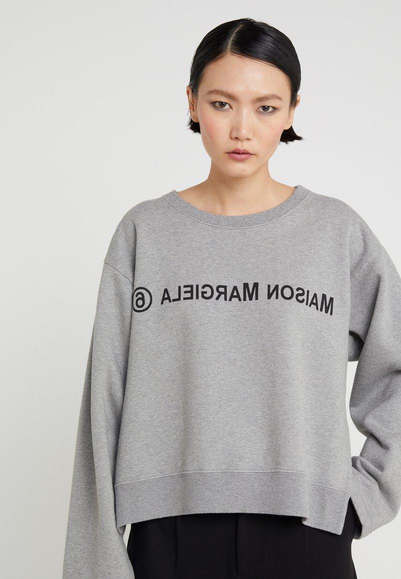 MM6 Maison Margiela - Sweatshirt - grey melange
