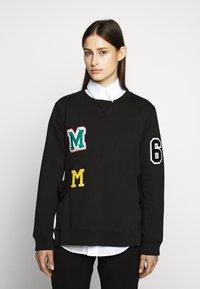 MM6 Maison Margiela - PATCHES - Mikina - black - 0