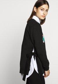 MM6 Maison Margiela - PATCHES - Sweater - black - 3