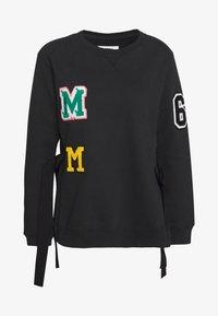 MM6 Maison Margiela - PATCHES - Sweater - black - 8
