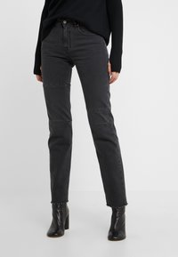MM6 Maison Margiela - Relaxed fit jeans - black - 0