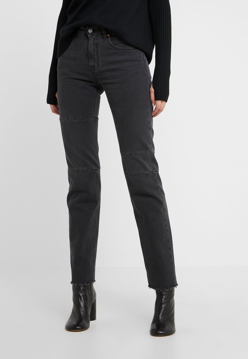 MM6 Maison Margiela - Jeans relaxed fit - black