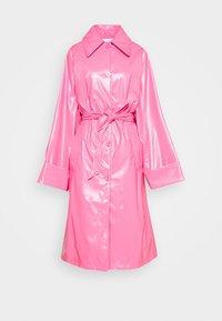MM6 Maison Margiela - COLOR - Trenchcoat - barbie pink - 7