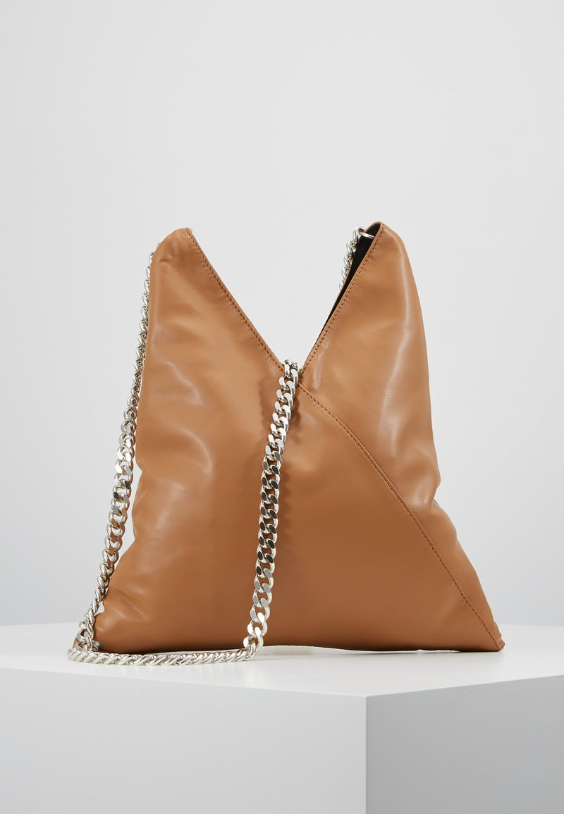 MM6 Maison Margiela - BORSA TRACOLLA - Schoudertas - brown sugar