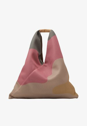 Shopper - beige/fuxia/yellow