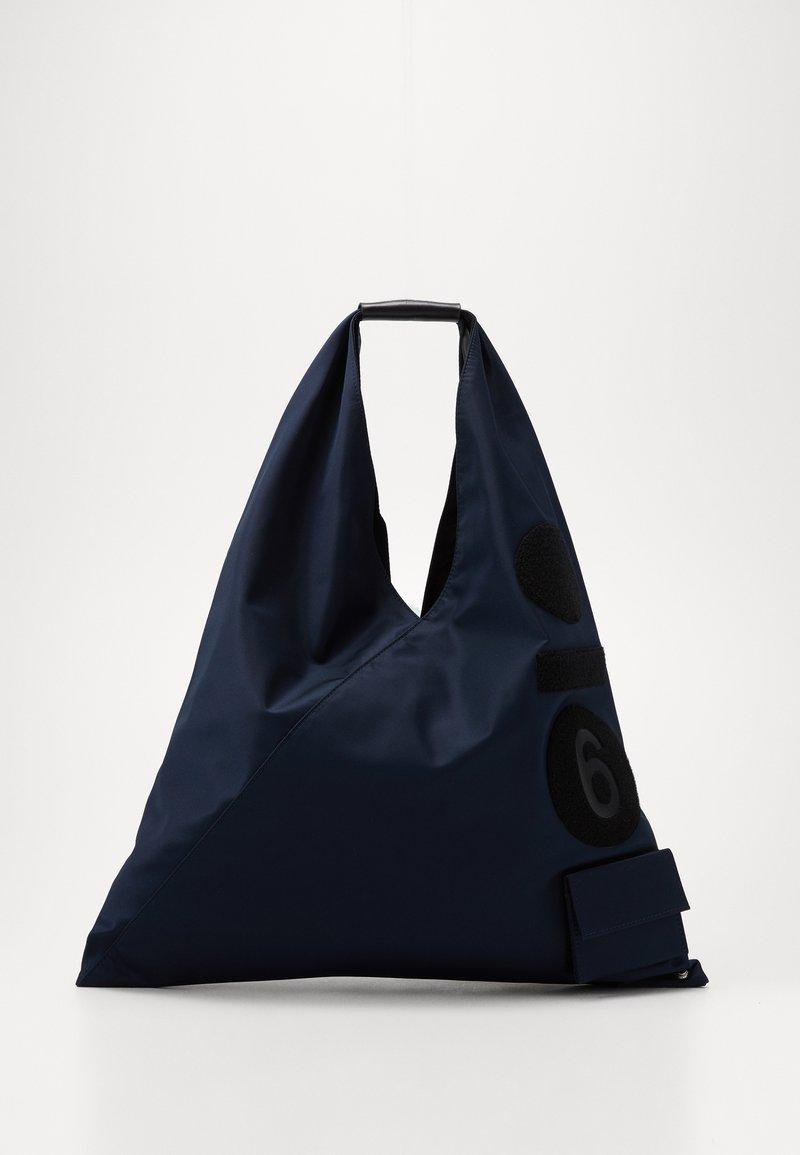 MM6 Maison Margiela - Torba na zakupy - dark blue/black