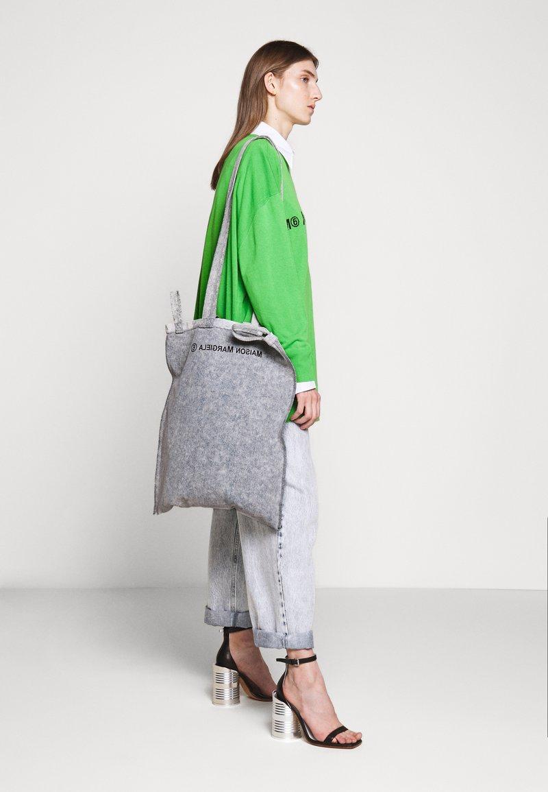 MM6 Maison Margiela - Shopping bag - grey
