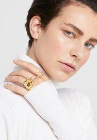 MM6 Maison Margiela - ANELLO - Ring - gold-coloured - 1