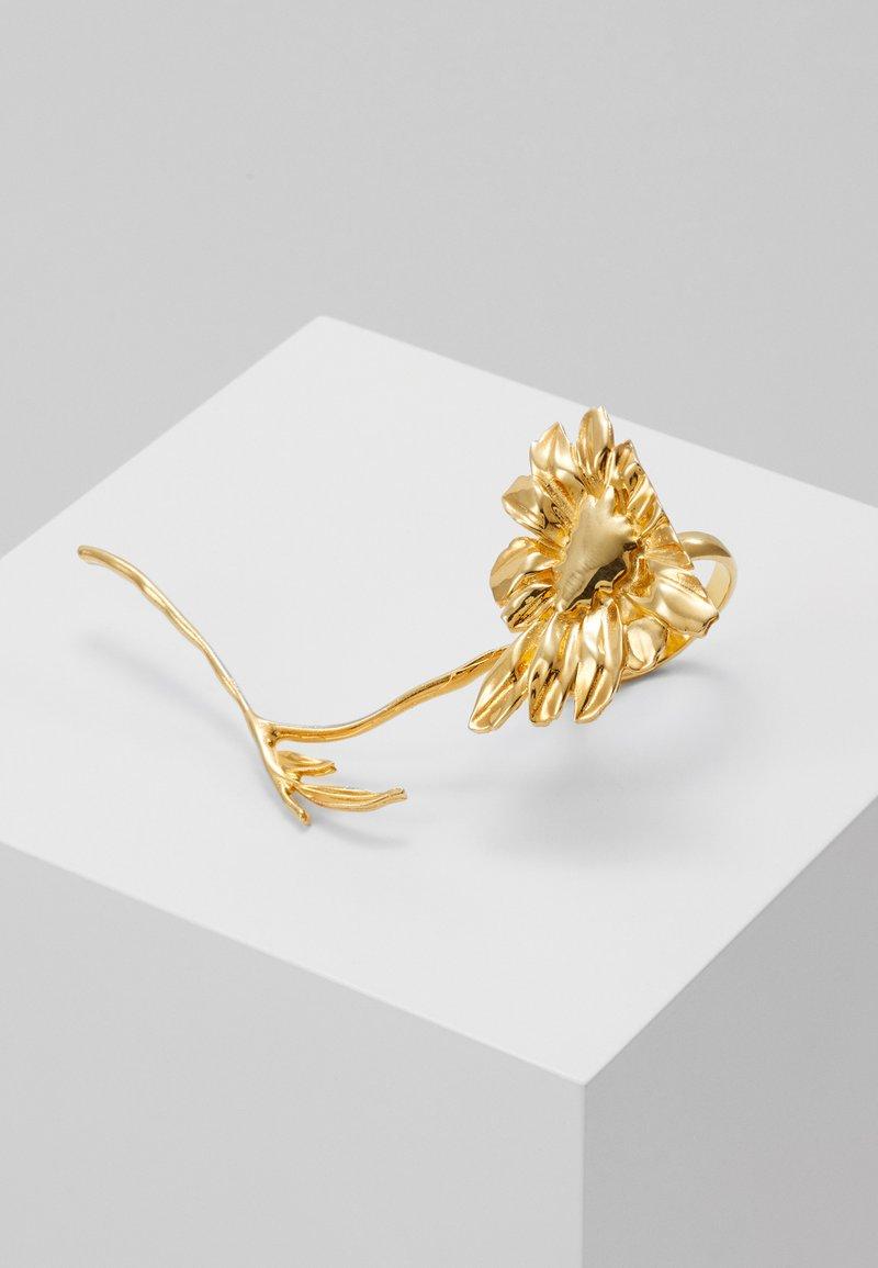MM6 Maison Margiela - ANELLO - Ring - gold-coloured