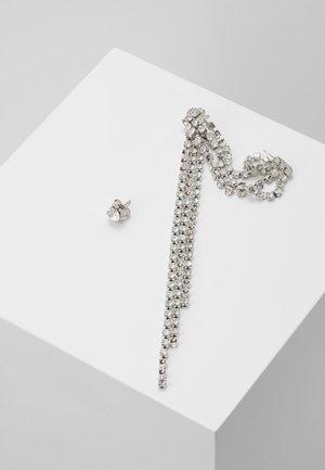 2 PACK - Orecchini - silver-coloured